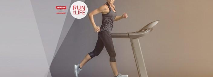 Acquista il tapis roulant Johnson 6.0 T di Johnson Fitness: sosterrai ActionAid!
