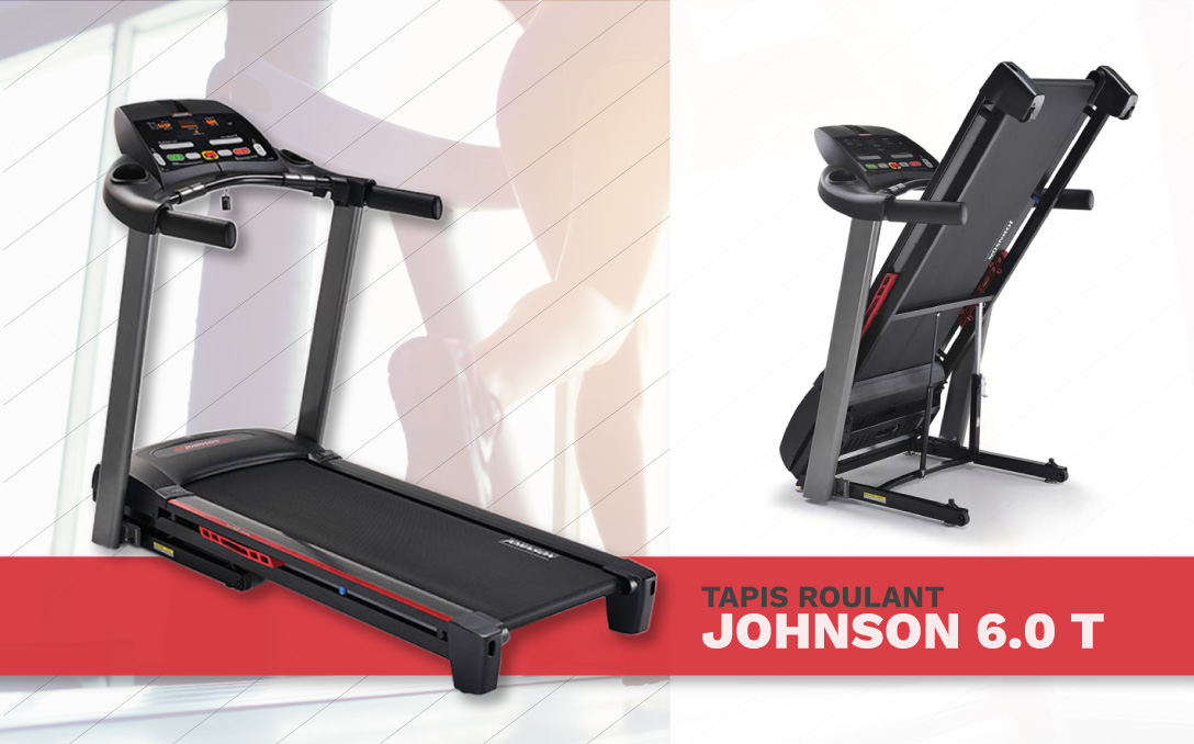 tapis roulant johnson fitness