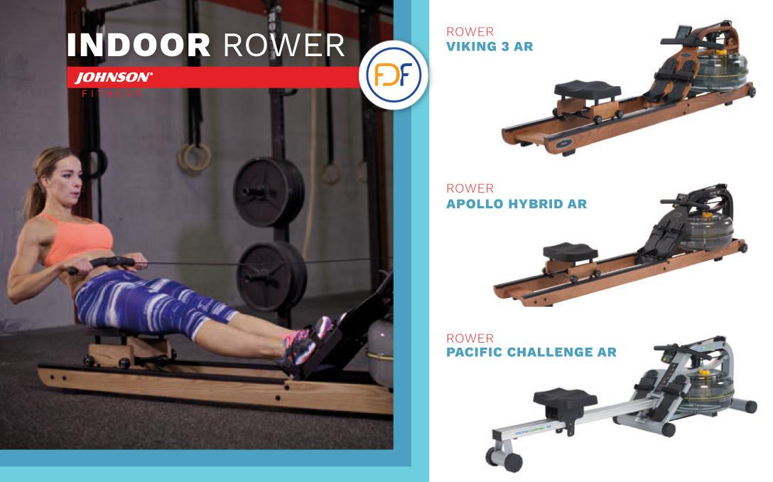 rower water resistance vogatori con resistenza ad acqua