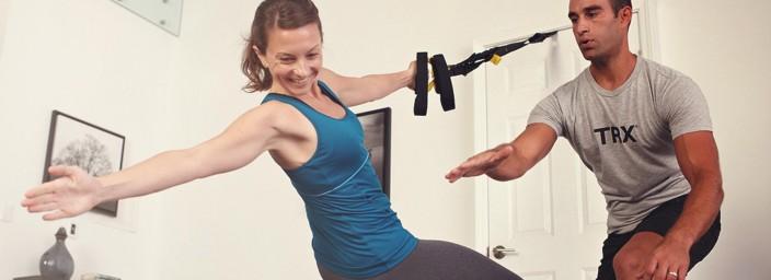 Allenati per le feste: prova il TRX con Johnson Fitness!