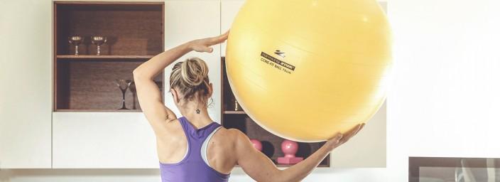 La Fit-Ball, un accessorio multifunzione che ti aiuta a mantenerti in forma