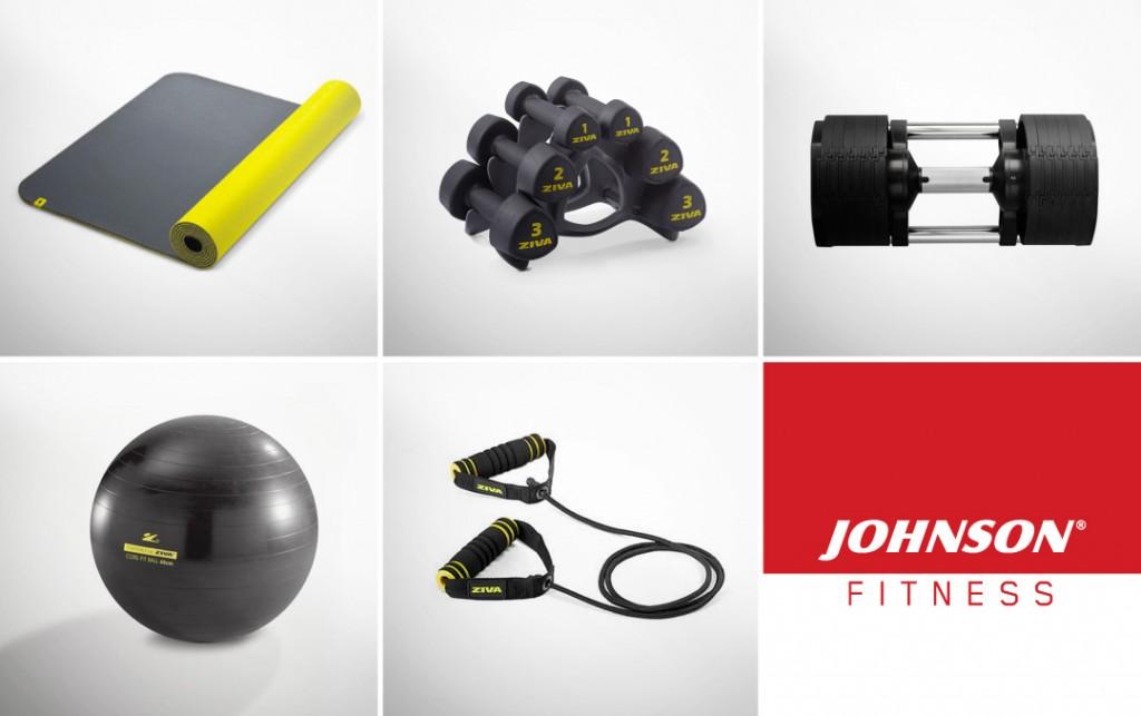 accessori allenamento in casa johnson fitness