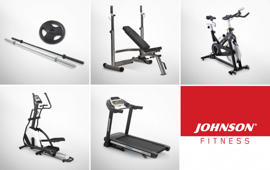 attrezzature home fitness johnson fitness