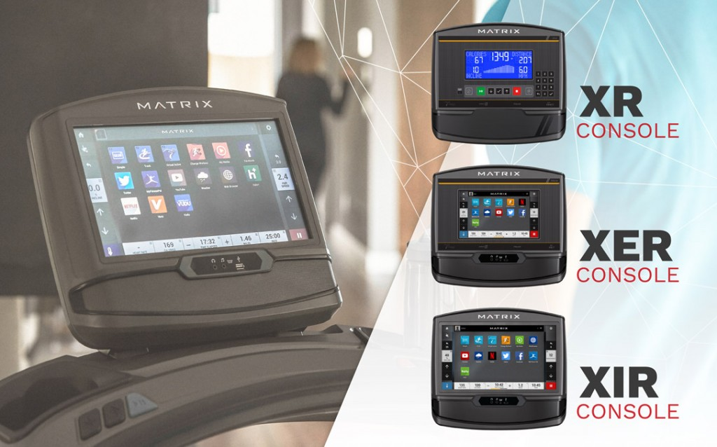 console matrix fitness home