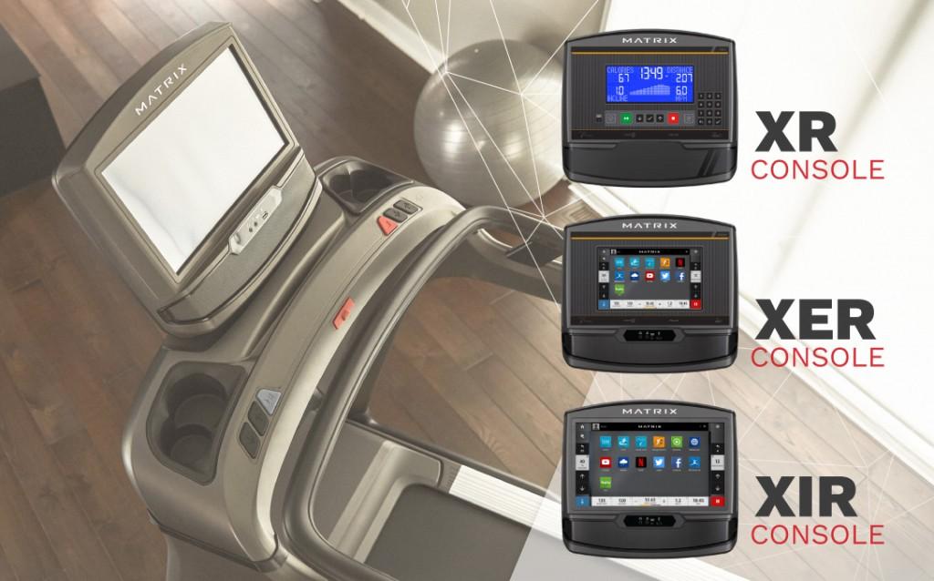 console attrezzature matrix home fitness