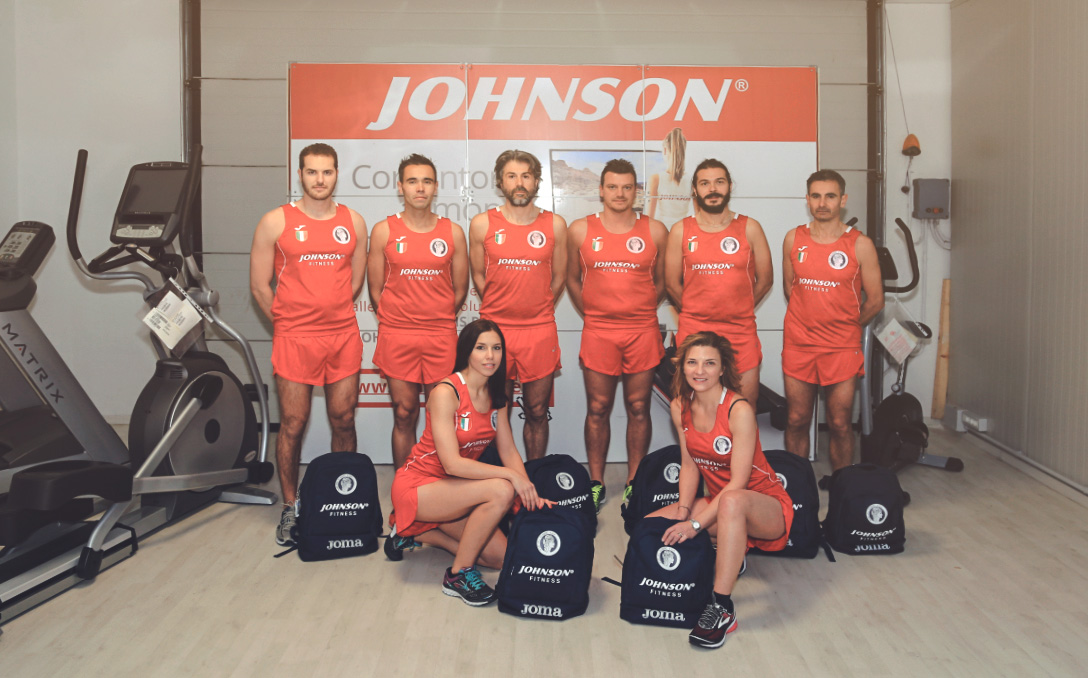 johnson fintess con ancaria running team