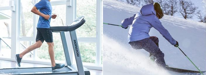 I consigli di allenamento Johnson Fitness per gli amanti dello sci